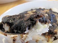料理:牛すじの半黒カレーアップ@生パスタの店アンチョビ・平尾