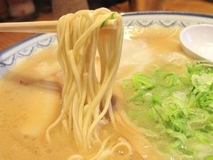 12ワンタンメン並麺@節ちゃんラーメン