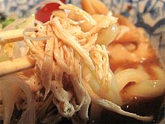 料理:饂麺(うーめん)鶏肉@麺処・糀や・キャナルシティ博多・ラーメンスタジアム