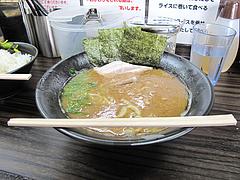 5ランチ:ラーメン並550円油多め@濃厚豚骨醤油ラーメン・無邪気・七隈