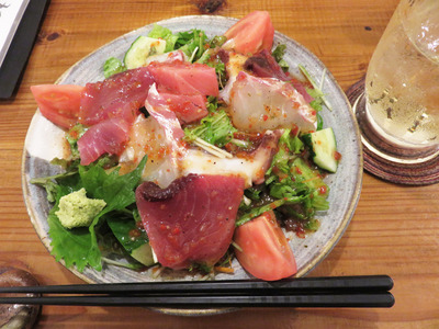 2海鮮サラダ
