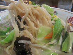 8ランチ:大連風ちゃんぽん麺@大連屋台料理Lee(李・リー)