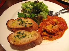 夜:トリッパのトマト煮込み@イタリアン・トラットリア・ ウーノ(Trattoria-Uno)