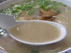 料理:ラーメンスープ@長浜ラーメン・じろう・西新