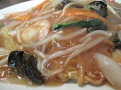 12ランチ:五目あんかけ皿うどんの餡@中華・舞鶴麺飯店