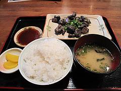 6ランチ:もも焼き定食650円@竹乃屋・電気ビル
