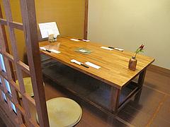 5店内:小上がり・掘り炬燵@和食・四季菜・益々・小郡