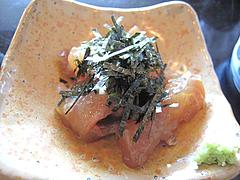 16ランチ:鯛の胡麻醤油和え@天ぷら・あきよし・室見