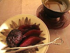 24栗とリンゴの赤ワインコンポート@女子会