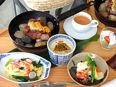 料理:プレートランチ@茶房わらび野