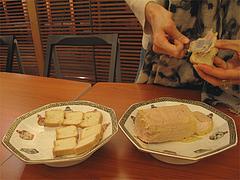 7夜の食事:フォアグラ・キャナール@LARNAUDIE(ラルノーディー)・フォアグラ缶詰