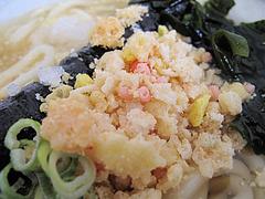 ランチ:冷やしうどんの揚げ玉@ちょんまげ侍・博多川端商店街