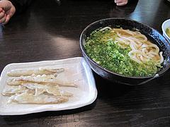 14ランチ:大盛りかけうどん410円+ごぼう天130円@讃岐うどん・さぬきうどん・誠屋