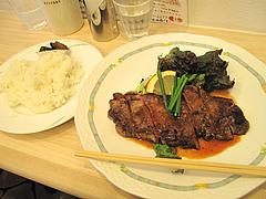 料理:サーロイン弁当680円@小さな洋食屋おがわ・警固