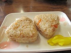 8ランチ:かしわ飯2個180円@博多・庄屋うどん・別府