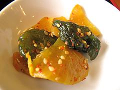 料理:漬物@好吃餃子(ハオツーギョウザ)
