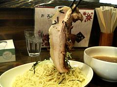 料理:つけ麺チャーシュー@魚介豚骨醤油いっき・薬院