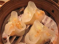 料理(什菜龍蝦餃):伊勢海老入り蒸し餃子@CHINA(チャイナ)・グランドハイアット福岡・キャナルシティ博多