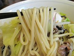 料理:ちゃんぽん玉子入りの麺@ちゃんぽん専門店・千吉・博多区神屋町