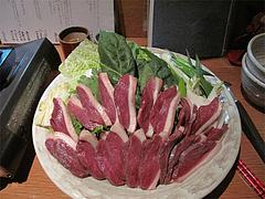 料理:鴨鍋@蕎麦・木曽路