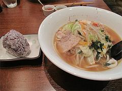 料理:舌心ちゃん600円・日替わりおむすび100円@上四十川・舌心