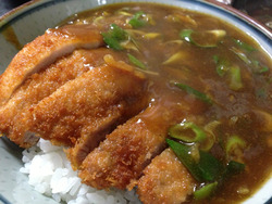 4カツカレー丼@みすず庵・西新