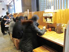 店内:カウンター席@日の出食堂・博多駅