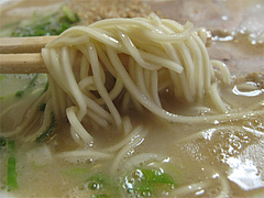 7ランチ:ラーメン麺@丸元ラーメン・春日