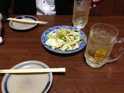 3酢キャベツ@やきとり赤垣屋