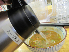 ランチ:スープ割り@つけ麺・麺屋・光喜・福岡