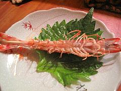 6料理:活海老焼き@博多須崎屋台かじしか