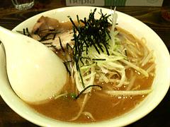 料理:もやしラーメン680円@魚介豚骨醤油いっき・薬院