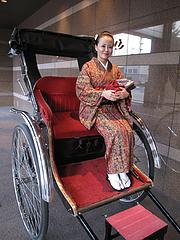 福岡・博多観光1@人力車の博多人力屋