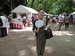 4暑い@下鴨神社・納涼古本まつり(古本市)2012