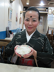 1ランチ:ご飯のおかわり自由です@中国料理・徳福・博多区役所