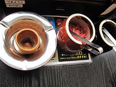 店内:全席喫煙@ラーメンく〜た半道橋店・博多区