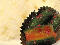 料理:オイキムチ(きゅうり)@小さな洋食屋おがわ・警固