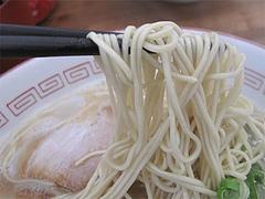 料理:ラーメン麺@一楽ラーメン・箱崎埠頭(ふ頭)