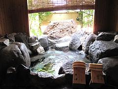 家族風呂の湯たまる@中川温泉・蛙乃湯(蛙の湯)