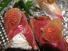20夜:お肉のお寿司@たつみ寿司・総本店・博多座裏