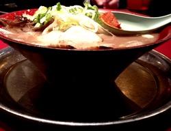 9冷めないラーメン鉢です@火の国文龍・総本店
