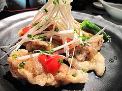 20和食:虎ふぐの唐揚げ三昧酢和え@英二楼・河豚料理・海鮮居酒屋