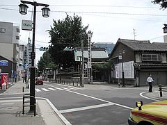 外観:旧大乗寺前町の通り@博多つけ蕎麦・串揚げ・博多大乗路・櫛田神社