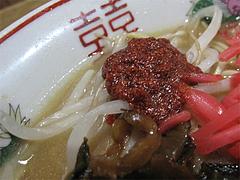 料理:食べるラー油食べる@永楽ラーメン・小倉