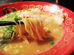 7ラーメン麺カタ@暖暮・西新