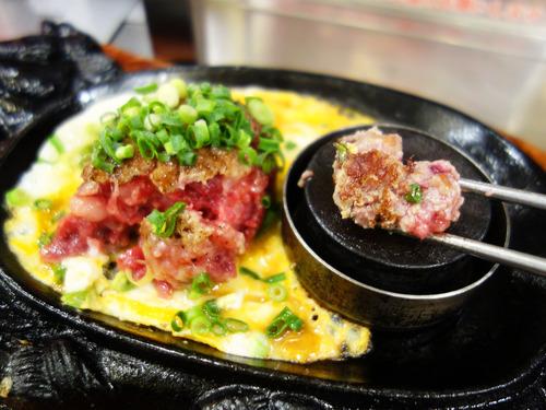 【福岡】自分で焼くスタイルの生ハンバーグ♪@極味や 福岡パルコ店