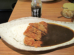 料理:ローストンカツカレー690円@ナイル今泉店・天神