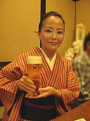 居酒屋:ザ・プレミアム・モルツ生@博多鶏と麺こはる・ラーメン居酒屋