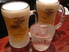 5店内:ビールと島美人@うず・魚串・警固