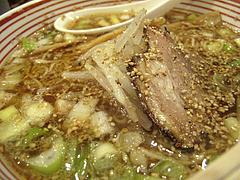 13ランチ:ばくだん屋のラーメン@廣島つけ麺本舗・ばくだん屋・大橋店
